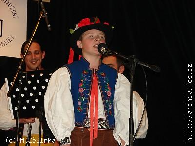 <b>Tadeáš HOZA</b> z Hulína, <b>BRONZOVÝ ZPĚVÁČEK 2007</b>